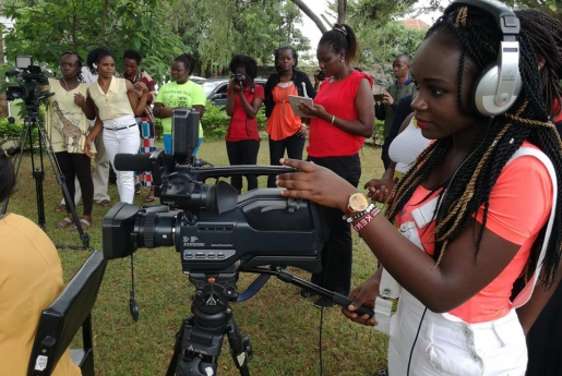 Girl-Led Media and Leadership training Intervention (GFC and Stars Foundation)